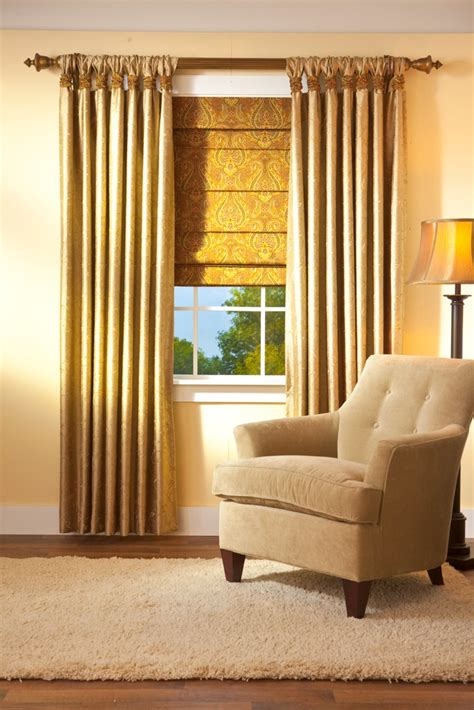 Shade Curtains Decorating Custom Gathered Tab Top Curtain 20 Quot Side Panel Group1