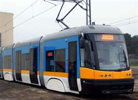 new swing new swing tram for sofia in production railway pro