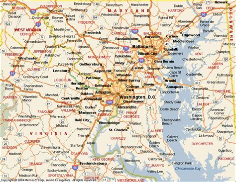 map of dc area map of washington dc area and virginia swimnova