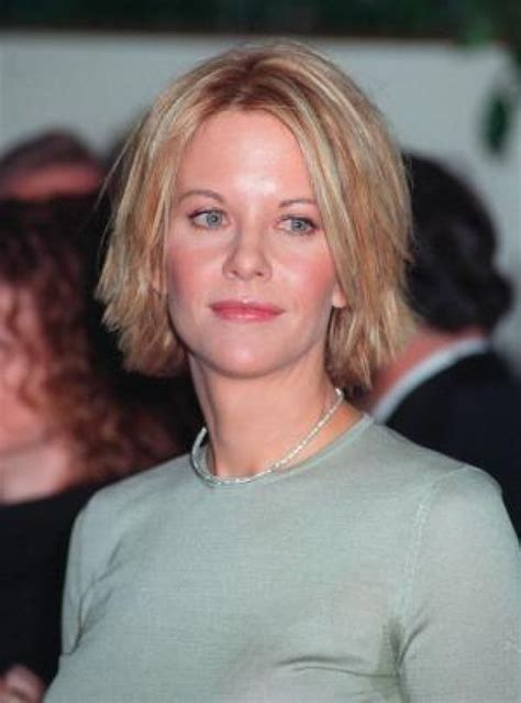 meg ryans sally shag haircut meg ryan short hairstyle straight and choppy bob meg
