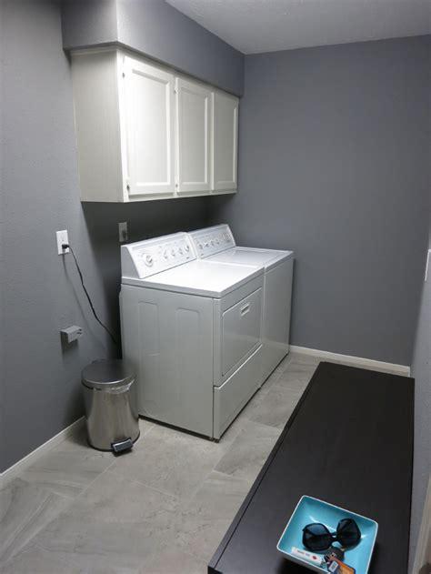 painted  laundry room evan katelyn home diy