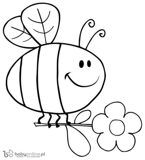 ujebała misia pszczoła pszczoła kolorowanka dla dzieci do druku babyonline pl