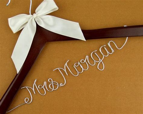 Bridal Wire by Promotion Personalized Wedding Hanger Wire Name
