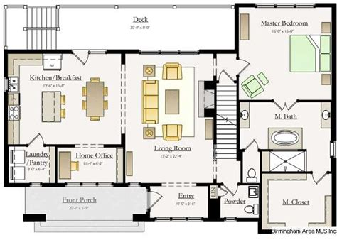 open floor plans vs closed floor plans closed kitchen floorplan google search floor plans
