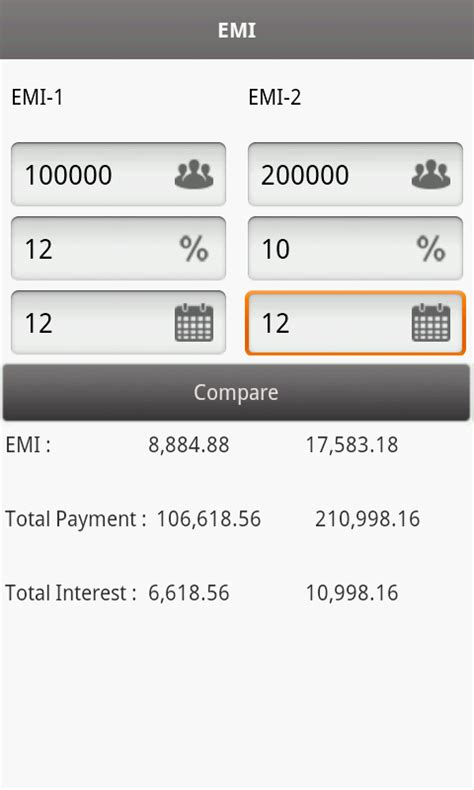emi calculator android apps on play