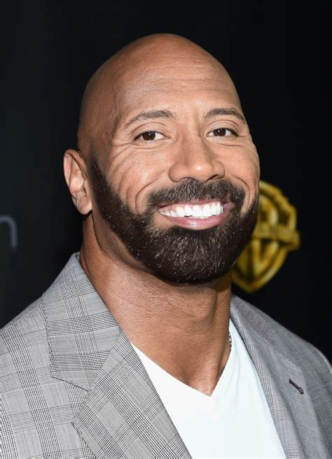 dwayne the rock johnson beard here s what these 12 celebrities look like with drake s beard