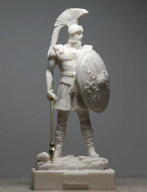 griechischer gott des schlafes ares mars gott des krieges alabaster statue skulptur figur