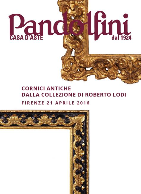 cornici antiche cornici antiche dalla collezione di roberto lodi by