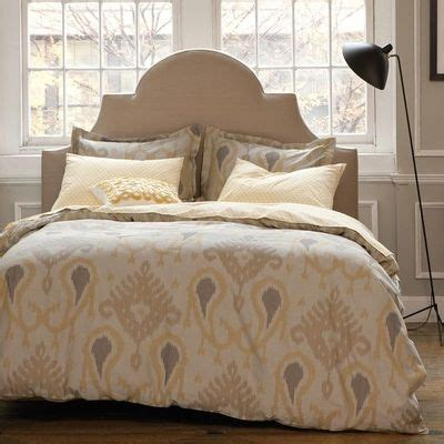 yellow and beige bedroom yellow beige ikat bedding by for college juxtapost
