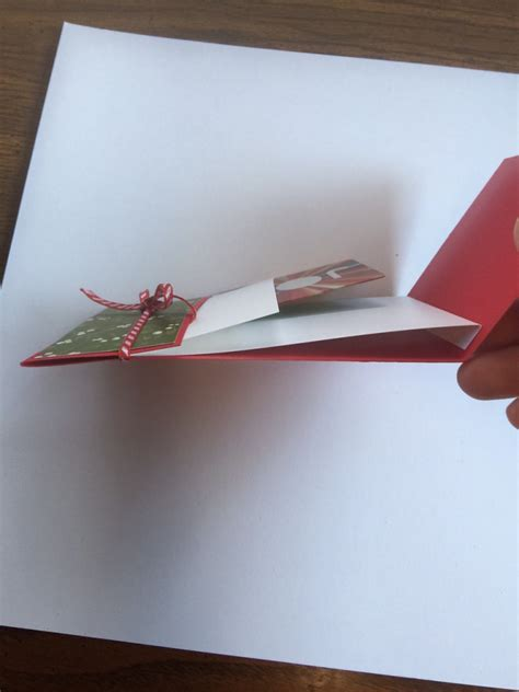 A Gift For You Gift Card Holder - fun fold card for a cute gift card holder for christmas karentitus com