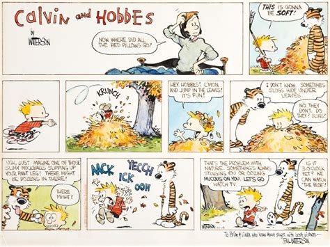 calvin and hobbes bill watterson original calvin hobbes sells for 203k