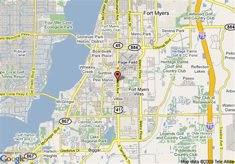 fort myers florida map fort myers zip codes map free showcasebackup