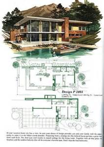 Mid Century Modern Home Floor Plans by 1000 Images About Cool Houses On Pinterest Vintage