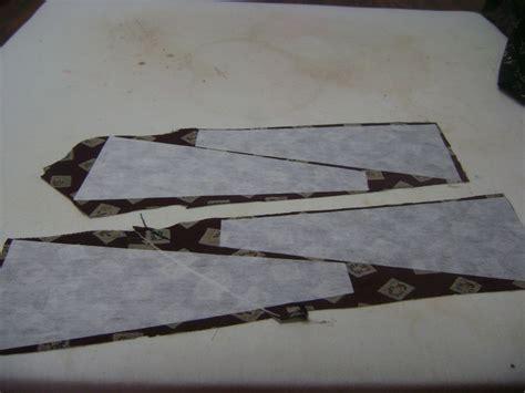 pattern ease stabilizer necktie quilt instructions one iron necktie quilt and craft
