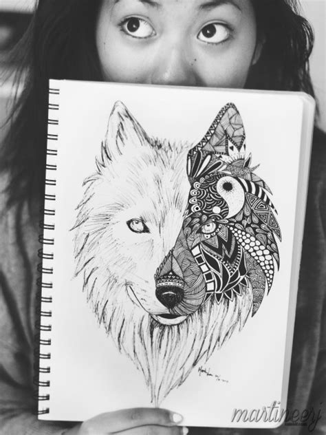 mandala animal tattoo tumblr wolf mandala tumblr