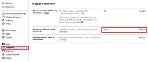 facebook fixer undg 229 at dit navn og billede fremg 229 r i reklamer fra