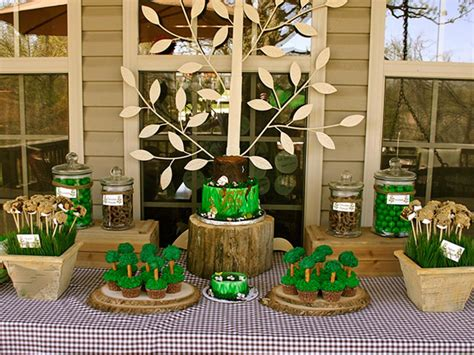 nature themed birthday party 30 birthday party decorations that your kids will love