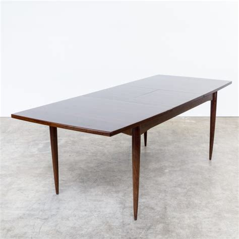 60s dining table 60s rosewood dining table extandable barbmama