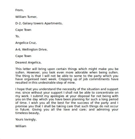 Business Apology Letter Sle Mistake business letter of apology for mistake 28 images 28