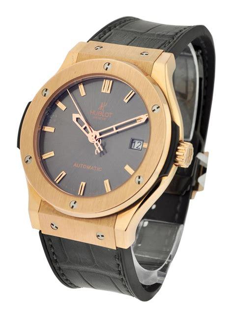 Hublot Classic Fusion Turbillon Silver Black Leather 1 511 px 7080 lr hublot classic fusion 45mm gold essential watches