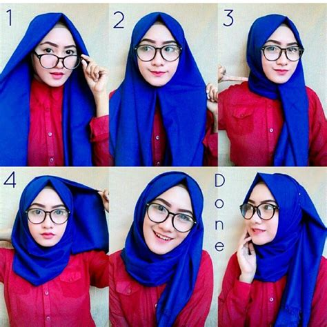 tutorial hijab pashmina satin yang simple tutorial hijab pashmina satin simple model terbaru 2017