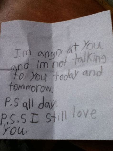kid up letter 40 hilariously honest notes from bored panda