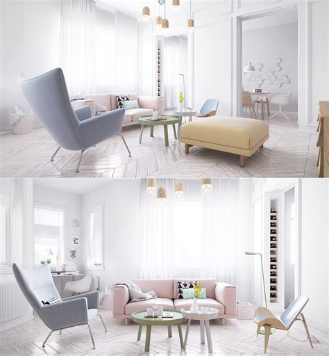 pink decorated rooms