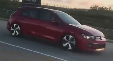 Volkswagen Golf Mk8 2020 by All New 2020 Vw Golf Mk8 Filmed In South Africa Update