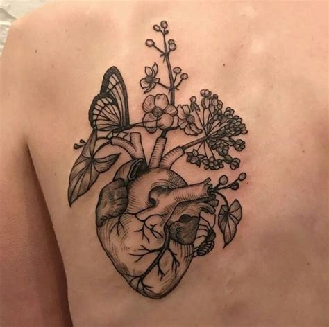 tattooed heart descargar the 25 best anatomical heart tattoos ideas on pinterest