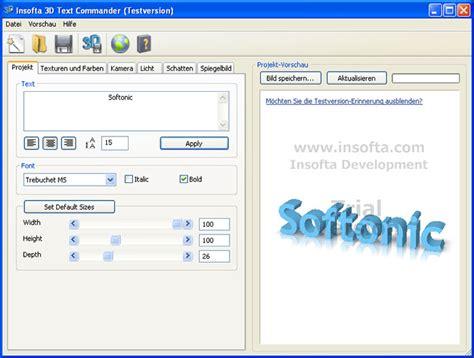 3d text logo design software free download 3d text commander download
