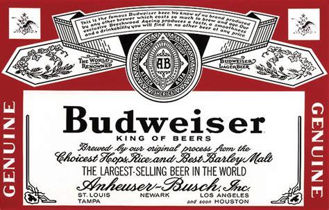 printable budweiser label distilled drinking alcohol pesticide concentration