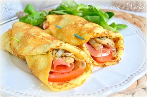 masa crepes salados crepes con jam 243 n serrano y mozzarella fresca