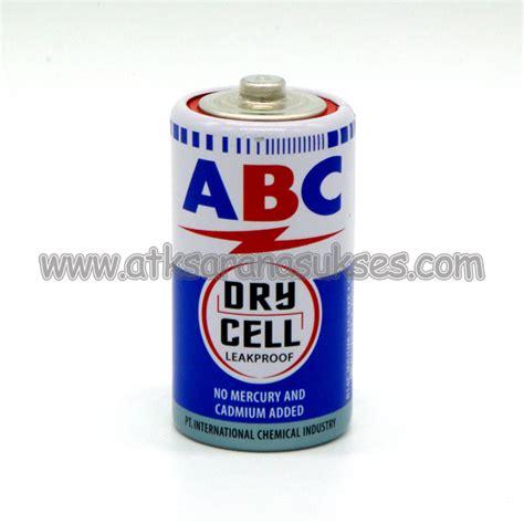 Baterai Abc Battery Cell Ukuran C jual alat tulis kantor murah surabaya 187 abc r14c cell 171 sarana sukses surabaya