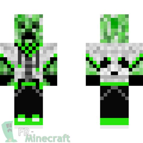 Similiar Minecraft Cool Creeper Skin Layout Keywords - Skins fur minecraft creeper