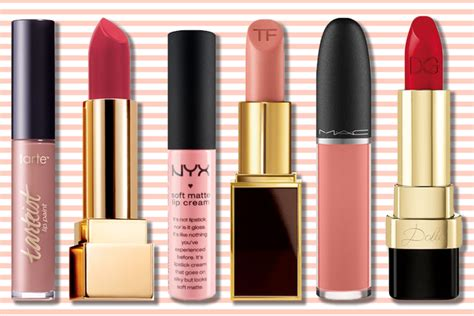 best matte lipsticks the best matte lipsticks that won t out your