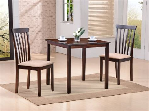 Space Saver Dining Room Sets Avery Space Saver 3pc Wood Dining Room Dinette Set Discount Skngss3