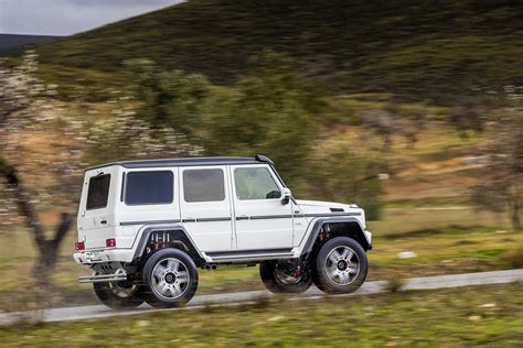 Mercedes That Looks Like A Jeep Mercedes G500 4x4 178 Price Announced It S More Than A