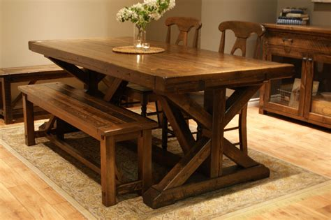 ch 226 teau trestle dining table liken woodworks