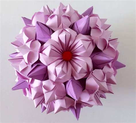 Origamy Flowers - 25 best ideas about origami flowers tutorial on
