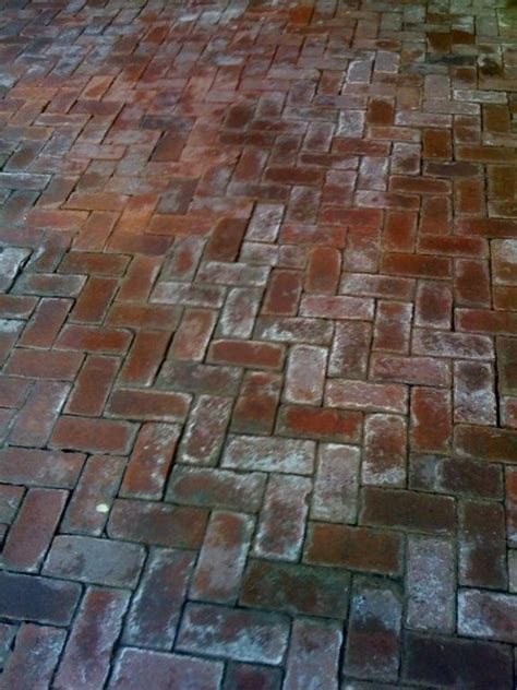 cleaning brick patio patio brick cleaning before and after brick by brick