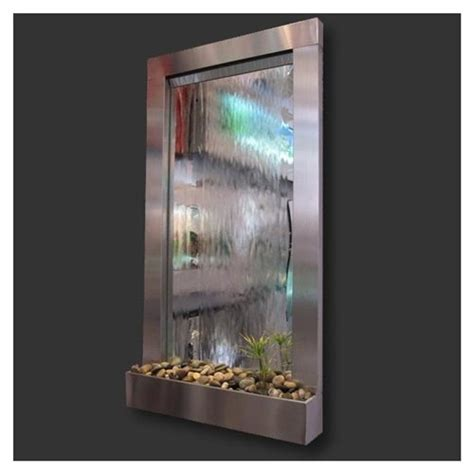 indoor waterfall home decor indoor waterfall mirror home decor pinterest