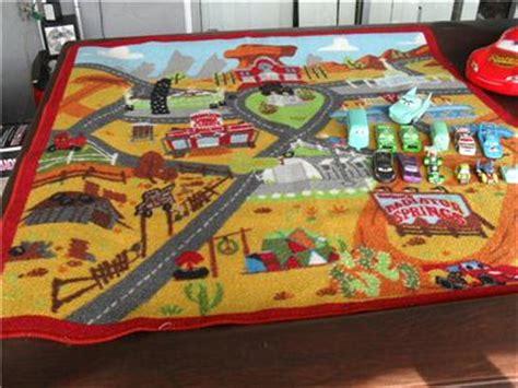 Disney Pixar Cars Rug - lot 13 disney pixar cars play rug mack truck playset