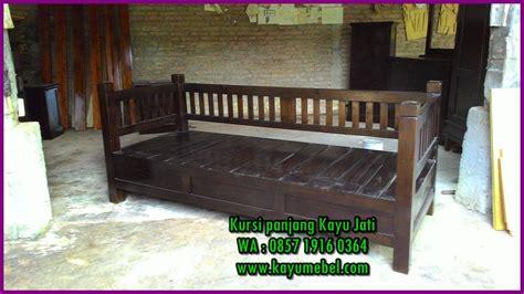 Kursi Panjang Kayu Jati kursi kayu panjang minimalis harga kursi panjang kayu