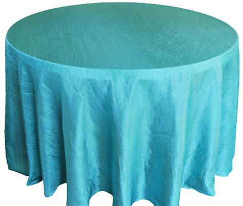 table cloth pool blue 120 crushed crinkle taffeta tablecloths