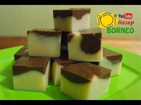 resepi   puding coklat marble olahan roti tawar