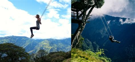 swing ecuador incredible planet places you didn t know they exist on earth