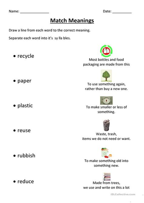 Recycle Worksheets by Recycling Worksheets For Kindergarten Free Education
