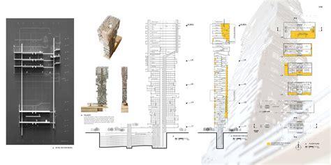 skyscraper section inverted skyscraper houston evolo architecture magazine