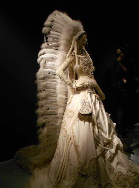 American Wedding Dresses by Traveling In Style Jean Paul Gaultier Exhibition De