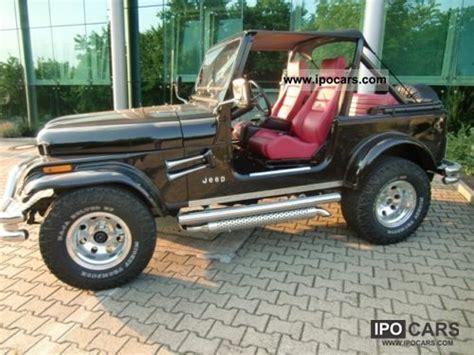 1987 Cj7 Jeep 1987 Jeep Cj7 Car Photo And Specs